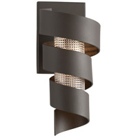 Troy Lighting B4261 Vortex LED 5 inch Bronze Wall Sconce Wall Light