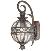 Campanile 1 Light 17 inch Campanile Bronze Outdoor Wall Lantern