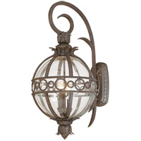 Campanile 3 Light 28 inch Campanile Bronze Outdoor Wall Lantern