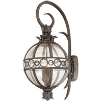 Campanile 4 Light 36 inch Campanile Bronze Outdoor Wall Lantern