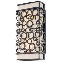 Troy Lighting Aqua 2 Light Outdoor Wall Lantern in French Iron B5011FI