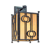 Troy Lighting Aberdeen 1 Light Outdoor Wall Lantern in Fired Iron B5032FI
