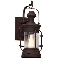 Atkins 1 Light 16 inch Centennial Rust Outdoor Wall Light