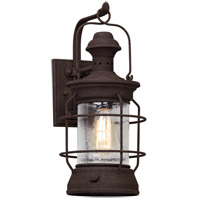 Atkins 1 Light 18 inch Centennial Rust Outdoor Wall Light