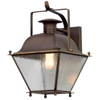 Troy Lighting B5071NR Wellesley 1 Light 16 inch Natural Rust Outdoor Wall Light