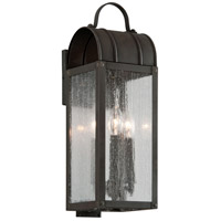 Bostonian 2 Light 19 inch Charred Iron Outdoor Wall Light