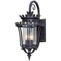 Greystone 3 Light 23 inch Forged Iron Outdoor Wall Light