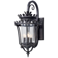 Greystone 4 Light 27 inch Forged Iron Outdoor Wall Light