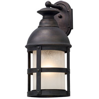 Webster 1 Light 22 inch Vintage Bronze Outdoor Wall Light in Incandescent