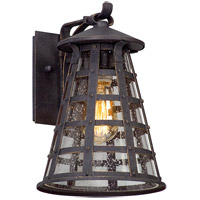 Benjamin 1 Light 12 inch Vintage Iron Outdoor Wall Light