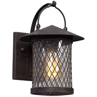 Altamont 1 Light 12 inch French Iron Outdoor Wall Light