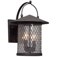 Altamont 2 Light 14 inch French Iron Outdoor Wall Light