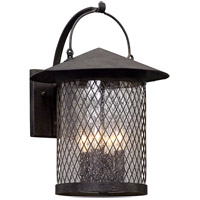 Altamont 4 Light 17 inch French Iron Outdoor Wall Light
