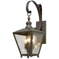 Mumford 3 Light 22 inch Bronze Outdoor Wall Light