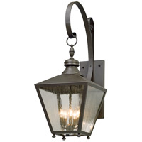 Troy Lighting Mumford - Outdoor Wall Light - 38 inch - Bronze Finish - Clear Seeded Glass B5194