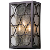 Bacchus 3 Light 18 inch Textured Bronze Outdoor Wall Light