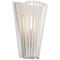 Tides 1 Light 9 inch Textured White ADA Wall Sconce Wall Light