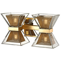 Iron and Gold Bathroom Vanity Lights