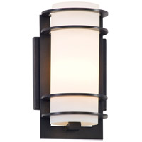 Troy Lighting B6061ARB Vibe 1 Light Architectural Bronze Outdoor Wall Lantern in Incandescent