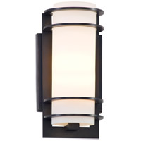 Troy Lighting B6062ARB Vibe 1 Light Architectural Bronze Outdoor Wall Lantern in Incandescent