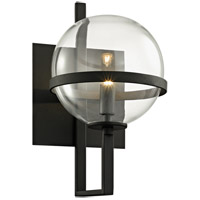 Troy Lighting B6221 Elliot 1 Light 7 inch Textured Black Wall Sconce Wall Light