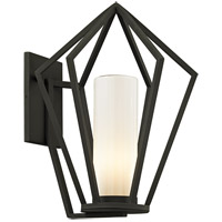 Troy Lighting B6342 Whitley Heights 1 Light 19 inch Textured Black Outdoor Wall Sconce