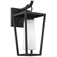 Troy Lighting B6351 Mission Beach 1 Light 14 inch Textured Black Outdoor Wall Sconce