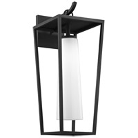 Troy Lighting B6353 Mission Beach 1 Light 23 inch Textured Black Outdoor Wall Sconce
