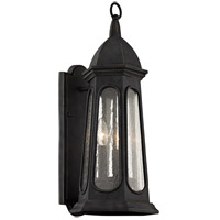 Troy Lighting B6362 Astor 3 Light 22 inch Vintage Iron Outdoor Wall Sconce
