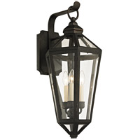 Troy Lighting B6373 Calabasas 3 Light 26 inch Vintage Bronze Outdoor Wall Sconce