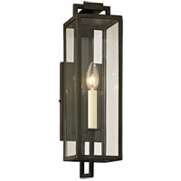 Troy Lighting B6381 Beckham 1 Light 17 inch Forged Iron Outdoor Wall Sconce