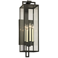 Troy Lighting B6383 Beckham 4 Light 8 inch Forged Iron Wall Sconce Wall Light