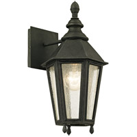 Troy Lighting B6431 Savannah 1 Light 15 inch Vintage Iron Outdoor Wall Sconce