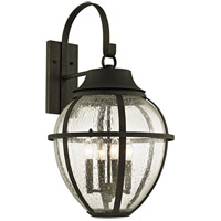 Troy Lighting B6453 Bunker Hill 4 Light 28 inch Vintage Bronze Outdoor Wall Sconce