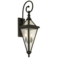 Geneva 2 Light 31 inch Vintage Bronze Outdoor Wall Sconce