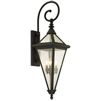 Geneva 4 Light 38 inch Vintage Bronze Outdoor Wall Sconce