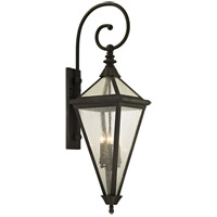 Geneva 4 Light 47 inch Vintage Bronze Outdoor Wall Sconce