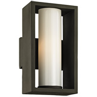 Troy Lighting B6491 Mondrian 1 Light 12 inch Textured Bronze Outdoor Wall Sconce