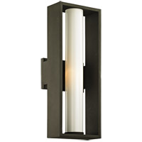 Troy Lighting B6492 Mondrian 1 Light 18 inch Textured Bronze Outdoor Wall Sconce