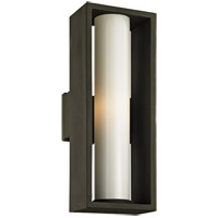 Troy Lighting B6493 Mondrian 1 Light 23 inch Textured Bronze Outdoor Wall Sconce