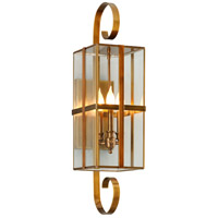Rutherford 3 Light 8 inch Heirloom Brass Wall Sconce Wall Light
