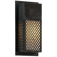 Ibiza 1 Light 6 inch Charred Bronze ADA Wall Sconce Wall Light