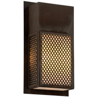 Ibiza 3 Light 10 inch Natural Rust Wall Sconce Wall Light