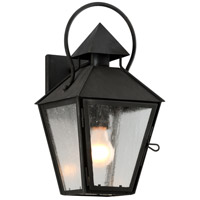 Allston 1 Light 8 inch Charred Iron Wall Sconce Wall Light