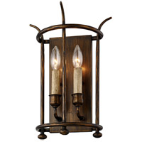 Troy Lighting B6641 Paso Robles 2 Light 10 inch Pompeii Bronze Wall Sconce Wall Light
