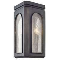 Troy Lighting B6793 Alton 3 Light 10 inch Graphite Wall Sconce Wall Light