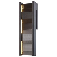Troy Lighting B6861 Fuze LED 5 inch Modern Bronze ADA Wall Sconce Wall Light