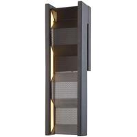 Troy Lighting B6861 Fuze LED 5 inch Modern Bronze ADA Wall Sconce Wall Light