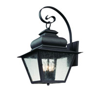 Troy Lighting Livingston 4 Light Outdoor Wall Lantern in Natural Bronze B7003NB