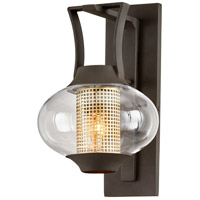 Troy Lighting B7021 Horton 1 Light 9 inch Texture Bronze Wall Sconce Wall Light